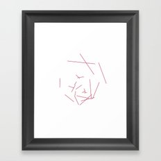 #328 Hexaboom – Geometry Daily Framed Art Print