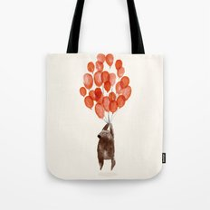 Almost Take Off Tote Bag