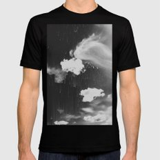 Cloudy Daze SMALL Mens Fitted Tee Black