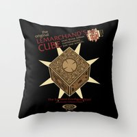Lemarchand's Cube - Hellraiser Throw Pillow