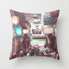 Melbourne Laneway Throw Pillow
