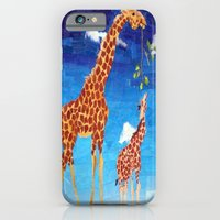 iPhone & iPod Case featuring G is for Giraffe by GiGi Garcia Collages