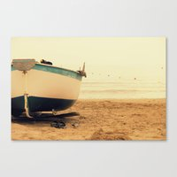 Canvas Print featuring boat by Silvia Giacoletto