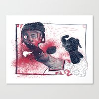 Hockey! Canvas Print