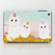 iPad Case featuring Birthday Kittens by Danse De Lune