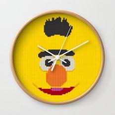 Knit Bert Wall Clock