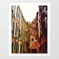 the little Macau from the LOVE ROAD Art Print
