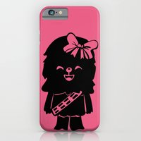 Baby Girl Wookie in Pink Graphic iPhone 6 Slim Case