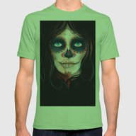 Mexico Vintage Travel Po… Mens Fitted Tee Grass SMALL