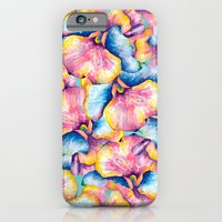 iPhone Cases featuring Flower Cascade by Tracie Andrews