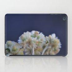 fluffy flower iPad Case