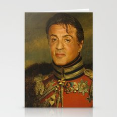 Sylvester Stallone - Rep… Stationery Cards
