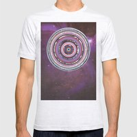 Galactica Mens Fitted Tee Ash Grey SMALL