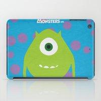Monsters - Minimalist Po… iPad Case