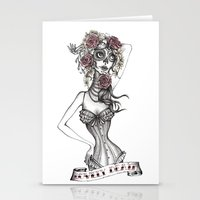 Lovely Death B/W Stationery Cards