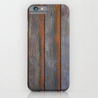 Rustic Wood Panel Boards… iPhone 6 Slim Case