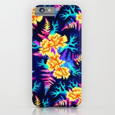 Coral Carnation - Yellow/Blue iPhone 6 Slim Case