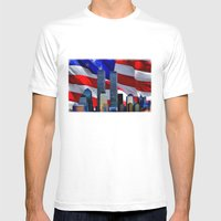 Remembrance Mens Fitted Tee White SMALL