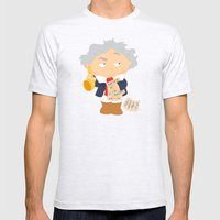 Ludwig van Beethoven Mens Fitted Tee Ash Grey SMALL