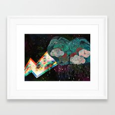 Cloud 9 Framed Art Print