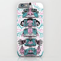 iPhone & iPod Case featuring Toto-Tem by James Burlinson