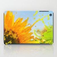 Splashing Sunflower iPad Case