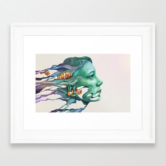 Actinodendron Plumosum Framed Art Print