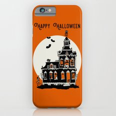 Vintage Style Haunted House - Happy Halloween Slim Case iPhone 6s