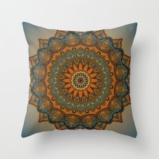 Moroccan Sun Throw Pillow