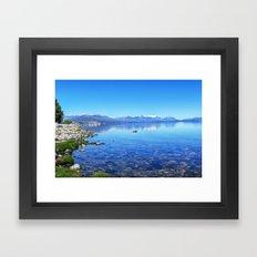 Lago Nahuel Huapi Framed Art Print