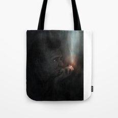 Man in Black Tote Bag