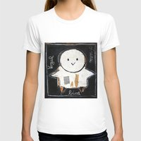 bird Womens Fitted Tee White SMALL