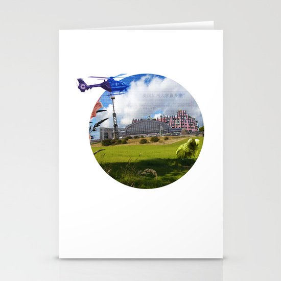Surreal Living 25 Stationery Card