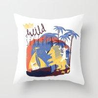 WILD RUMPUS Throw Pillow