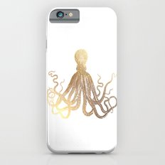 Gold Octopus  iPhone 6 Slim Case