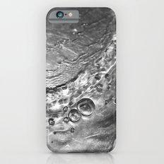 Silver Liquid Bubbles iPhone 6s Slim Case
