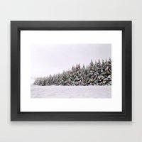 Festive Collage Framed Art Print