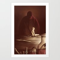 The Mandrake Art Print