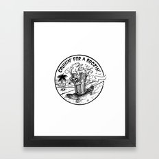 Cruisin' For A Boozin' Framed Art Print