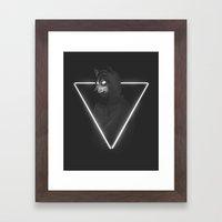 It's me inside me Framed Art Print