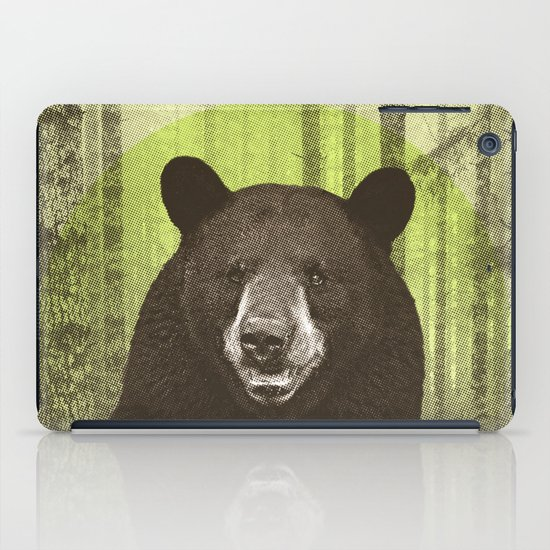 Black Bear iPad Case