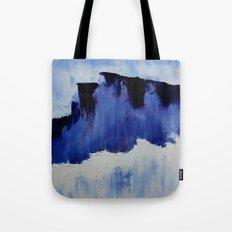 Cold Blue Tote Bag