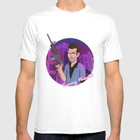 Vice City: Tommy Vercetti Mens Fitted Tee White SMALL
