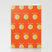 Fruit: Cantaloupe Stationery Cards