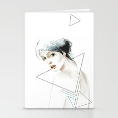 Inside The Triangle Stationery Cards