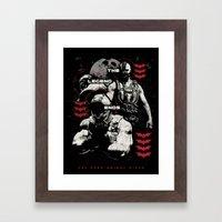 In Ashes Framed Art Print