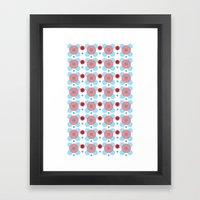 Dots Bubbles  Framed Art Print