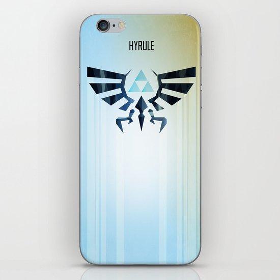 The Legend of Zelda - Hyrule Rising Poster iPhone & iPod Skin