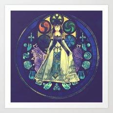 Zelda: Princess Of Desti… Art Print