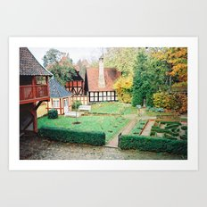 Den Gamle By, Århus Art Print